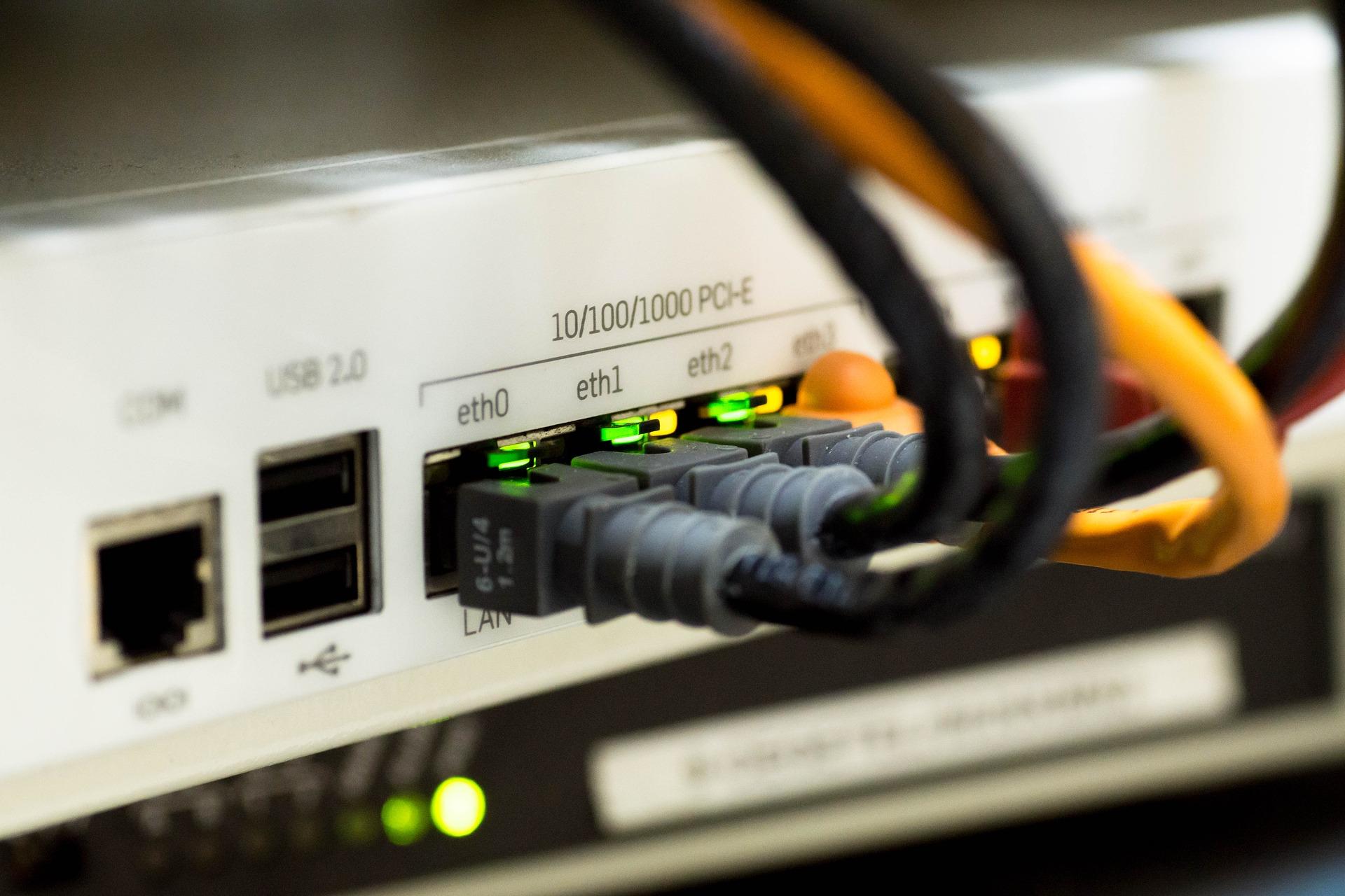 Ciscoルーターによるネットワーク構築